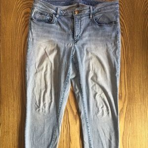 LOFT Curvy Skinny Ankle Jeans Size 12 or 31